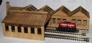 Arch Laser Creamery Low Relief (Ready Built) N Gauge